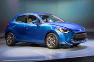 Toyota unveils new Mazda 2-based Yaris hatchback for US