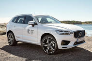Volvo XC60 with recycled plastics