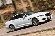Jaguar XJ - tracking side