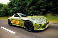 2017 Aston Martin Vantage spotted testing in near production form