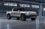 Rivian R1T official reveal - static front