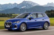 99 2022 BMW 2 Series Active tourer official images hero front