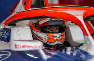 99 Alex Lynn Mahindra Formula E 2021 lead