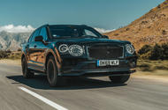 2020 Bentley Bentayga refresh prototype drive - hero front