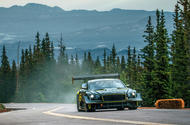 99 Bentley continental GT3 pikes peak synthetic fuels lead