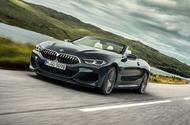 BMW 8 Series cabriolet 2018 official reveal - hero front