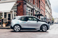 BMW i3 as part of DriveNow car-sharing scheme