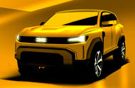 99 Dacia Duster sketch as imagined by Autocar