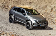 Mercedes-Benz EQC 4X4² concept revealed - hero front