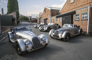 Morgan Plus Four 70th anniversary - first four cars