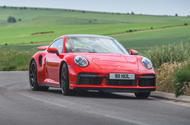 Porsche 911 Turbo S 2020 UK first drive review - hero front