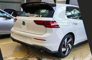 2020 Volkswagen Golf GTI rear end