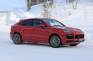 2020 Porsche Cayenne Coupe GTS prototype winter testing