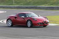2012 Alfa Romeo Spider - drifting