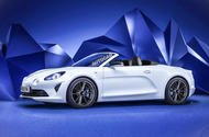 Alpine convertible imagined by Autocar