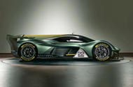 AM-RB 001 racing render