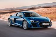 Audi R8 2018 cornering