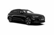 Audi E-tron Black Edition front