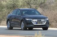 New Audi E-tron Sportback seen ahead of debut next month