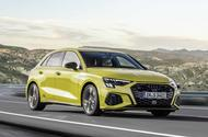 2020 Audi S3 hatchback front