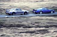 Honda NSX vs Nissan Skyline GT-R