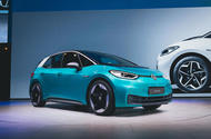 Volkswagen ID 3 at Frankfurt motor show 2019