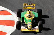 Martin Brundle, Benetton B192, 1992