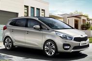 Kia Carens facelift revealed