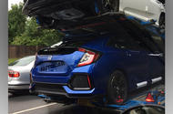 Honda Civic spied by reader