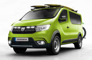 Autocar imagines the Dacia Sandman off-road campervan