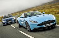 Aston Martin DB11 vs Bentley Continental GT Sport