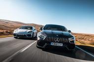 Porsche Panamera vs Mercedes-AMG GT Coupé 4 portes  Twin test super-quatre places: Porsche Panamera vs Mercedes-AMG GT 63 dsc 0008 1