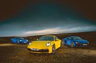 New Porsche 911 vs Audi R8 V10 vs Lotus Evora GT410