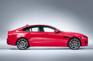 2019 Jaguar XE side profile