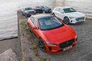 Jaguar I-Pace vs Audi E-Tron vs Mercedes EQC vs Tesla Model X