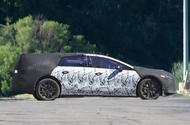 Mercedes EQ S prototype camouflaged