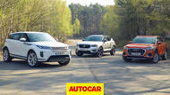 Range Rover Evoque video group test thumbnail