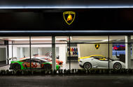New Lamborghini corporate look