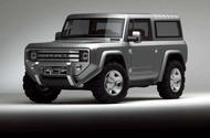 Ford Bronco SUV confirmed for 2020 production