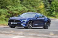 Ford Mustang 4-cylinder 2018 UK first drive review front cornering