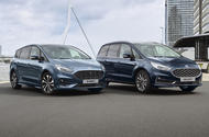 2021 Ford Galaxy and S-Max hybrids - front