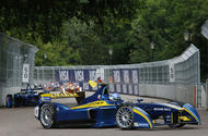 Formula E in Battersea Park