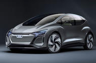 2019 Audi AI:ME concept hero front