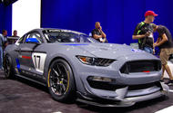 Ford Performance unveils 2017 GT4 race car at SEMA show