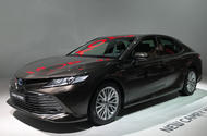 Toyota Camry shown in Paris ahead of return to Europe