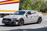 2017 Audi A7 Sportback - 450bhp S7 variant spotted testing