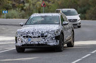 First Audi Q6 e-tron all-electric SUV spotted testing