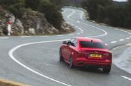 Jaguar XE cornering - rear