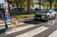 Jaguar I-Pace pedestrian alert noise generator