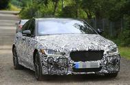 Jaguar XE R development car fans flames for new 567bhp V8 model
